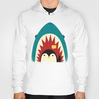 strong Hoodies featuring Hi! by Jay Fleck