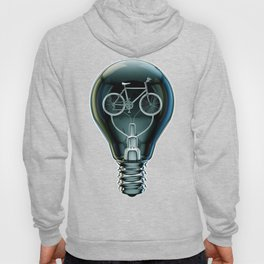 Dark Bicycle Bulb Hoody