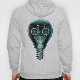 Dark Bicycle Bulb Hoody