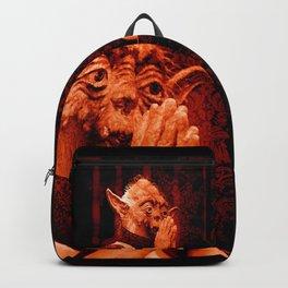 DalaiYOda - RED Backpack