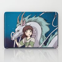 spirited away iPad Cases featuring Spirited Away by nellfoxface