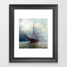 Fernweh for distant lands [expedition to Galapagos] Framed Art Print
