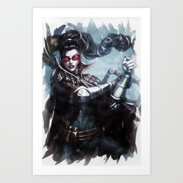 League of Legends VAYNE Art Print