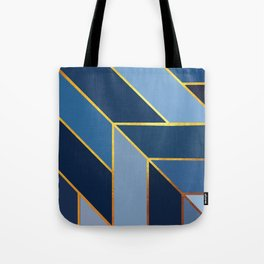 Pointing Blue Tote Bag
