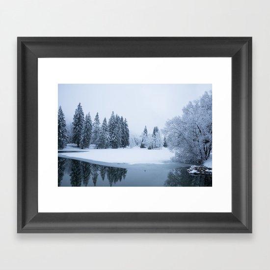 Silently Framed Art Print