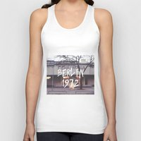 cinema Tank Tops featuring Cinema Columbia by MissBruce Lee