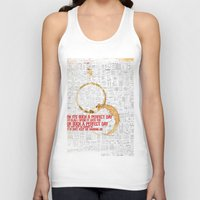 30 rock Tank Tops featuring 30 by Monica Maria Seksich