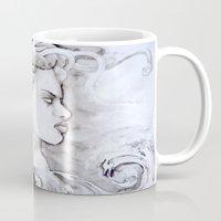 medusa Mugs featuring Medusa by Alux Medina