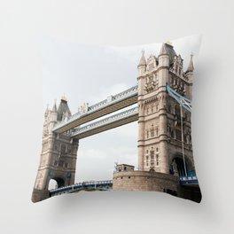 London - Tower Bridge Throw Pillow