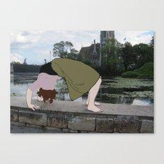 Backbend Canvas Print