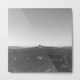 Union Peak View from Crater Lake Metal Print