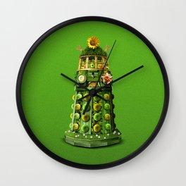 Germinate Germinate (0n green) Wall Clock