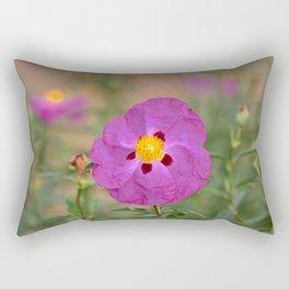 Lynda Anne Art Flower Rectangular Pillow