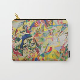 Wassily Kandinsky - Circles In A Circle Carry-All Pouch