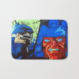 Anger in Animation Bath Mat