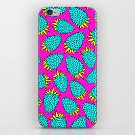 Cosmic strawberry design. iPhone Skin