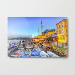 Picturesque Istanbul Metal Print