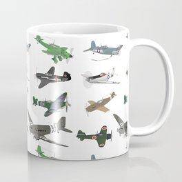Multiple WW2 Airplanes Coffee Mug