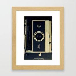 Old Polaroid iPhone Case Framed Art Print