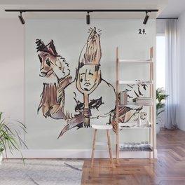 Los Caprichos ~ 24 ~ No Help Wall Mural