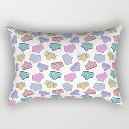 Pattern Project #44 / Underpants Rectangular Pillow