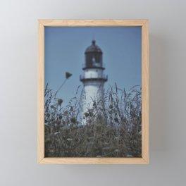 Down By The Seaside Framed Mini Art Print