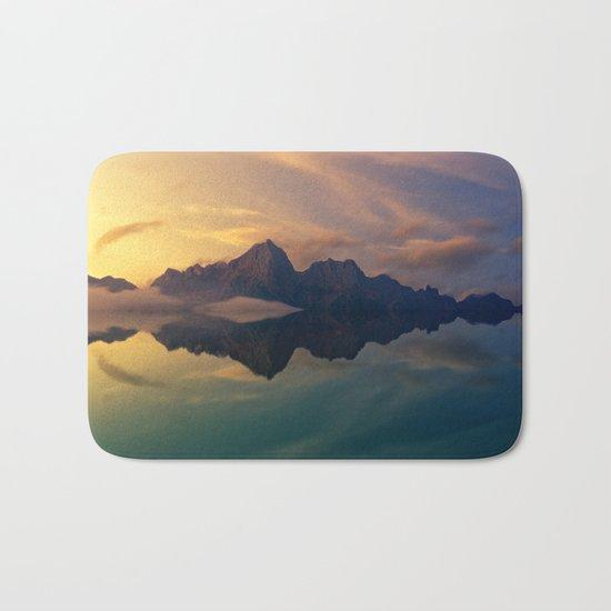 Mountain Reflection Bath Mat