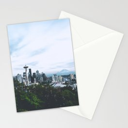 Seattle afternoon views Stationery Cards