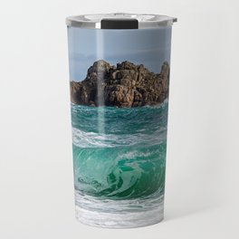 Porthcurno Cornwall Travel Mug