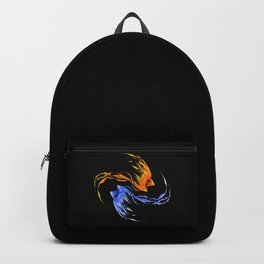 Phoenix Ice And Fire Backpack