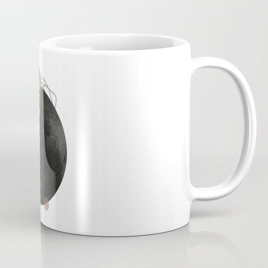 Life on Earth  | Collage | White Mug