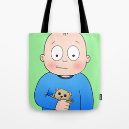 Bed Time Buddy Tote Bag