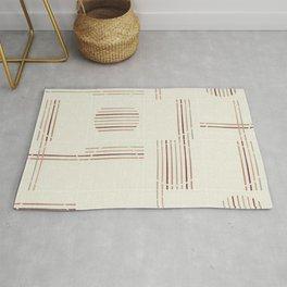 Minimal Rustic Tiles 03 Rug