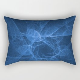 Abstract blue pattern Rectangular Pillow