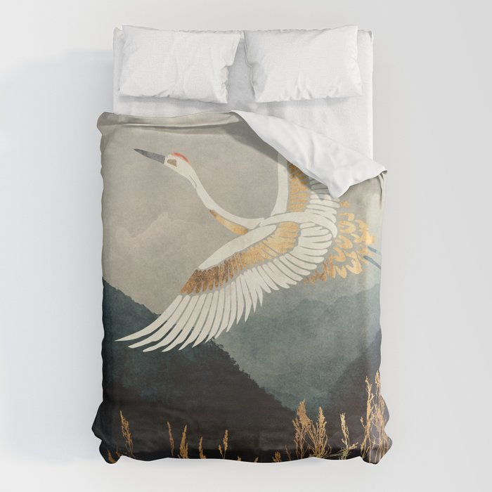 Elegant Flight Bettbezug