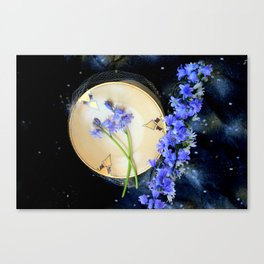 The Bluebells And Gold Fleet Canvas Print