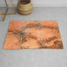Abstract mineral texture Rug