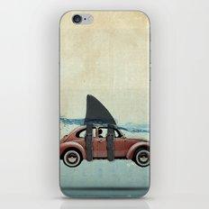 Bug with a Shark Fin iPhone & iPod Skin
