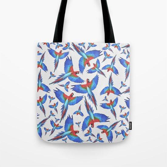 Parrot. Tote Bag