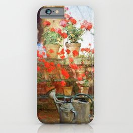 Frederick Childe Hassam - Hyde Collection - Digital Remastered Edition iPhone Case