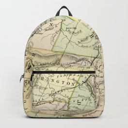 Vintage Map of the West Of The United States Backpack