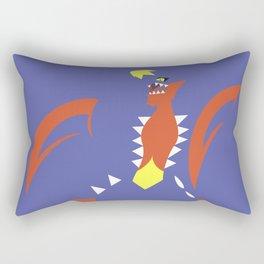 Mega Garchomp Rectangular Pillow