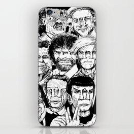 Dead Celebrities iPhone Skin