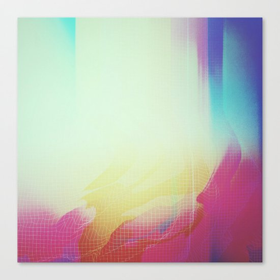 Glitch 16 Canvas Print
