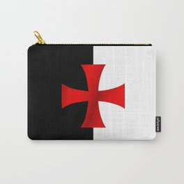 Dual color knights templar red cross Carry-All Pouch