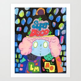 Super Disco Art Print