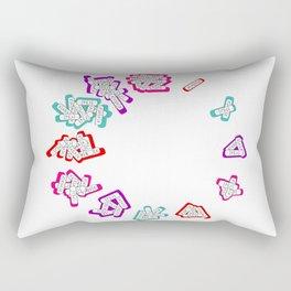 xano'clock Rectangular Pillow