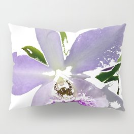 Purple Orchid Pillow Sham