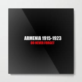 Commemoration Armenia 1915 Metal Print