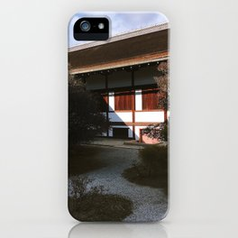 Kyoto Imperial Palace Shadows iPhone Case